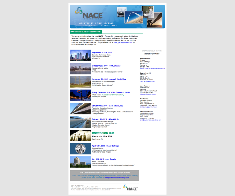 ... Marketing Campaign – Underway » NACE.org – Email Blast Template